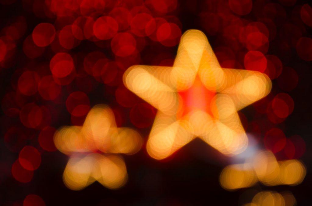 Trwały szablon gwiazdy.