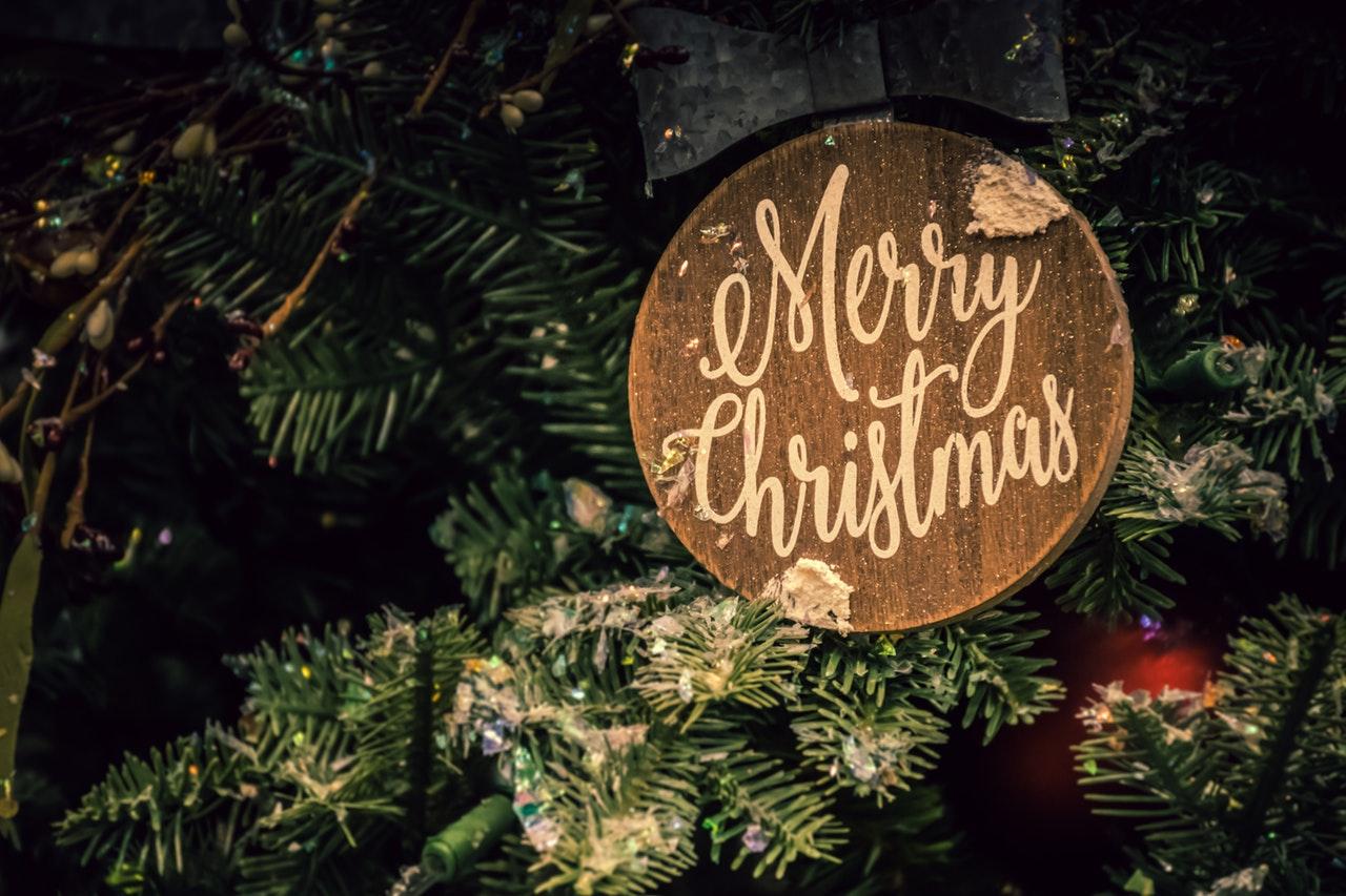 Wybierz już dziś piękny napis wesołych świąt.