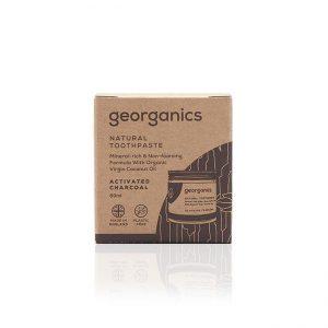 Zapewniająca zdrowie pasta do zębów Georganics.