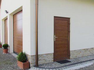 Drzwi zewnętrzne do kotłowni
