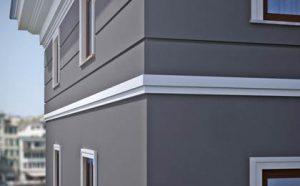 Elewacja budynku - sztukateria