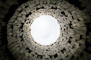 studnia z kamienia