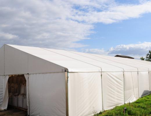 ogrzewanie hali namiotowej - hala