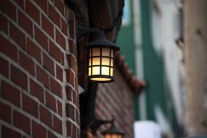 Kinkiet ogrodowy orinoko - oświetlenie elewacji