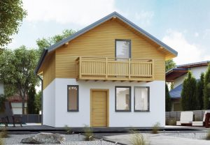 projekty domów piętrowych
