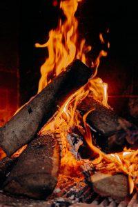 ogrzewanie hali namiotowej - ogien